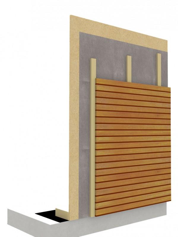 Holzfassade Detail system hedach ag holzkonstruktionen für dach und wand